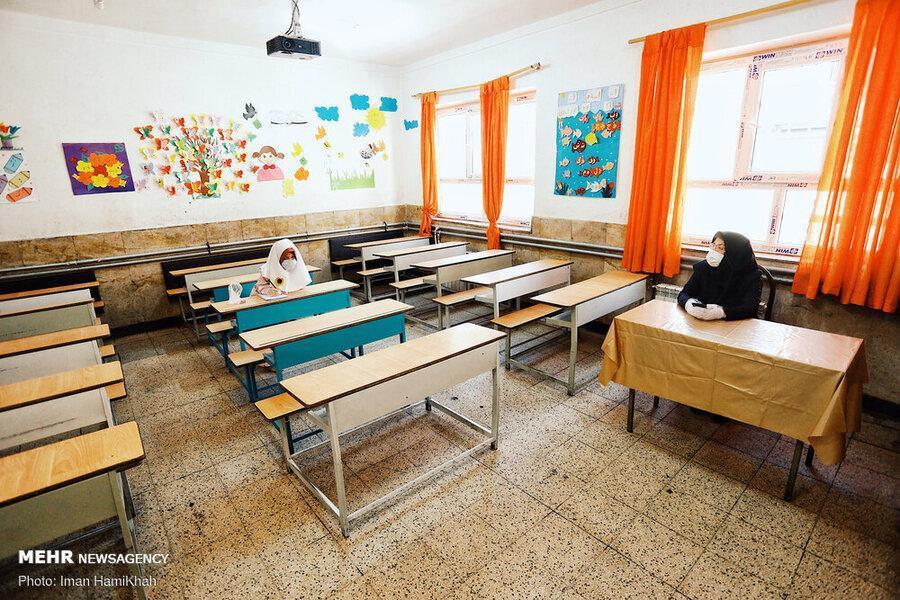 اولین استانی که مدارسش دوباره غیرحضوری شد ، ستاد کرونای استانی تصویب کرد